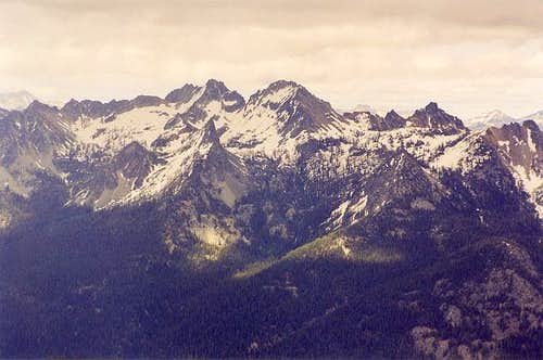 Pinnacle Mountain (the larger...