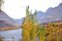Upper Kachura Lake during Autumn