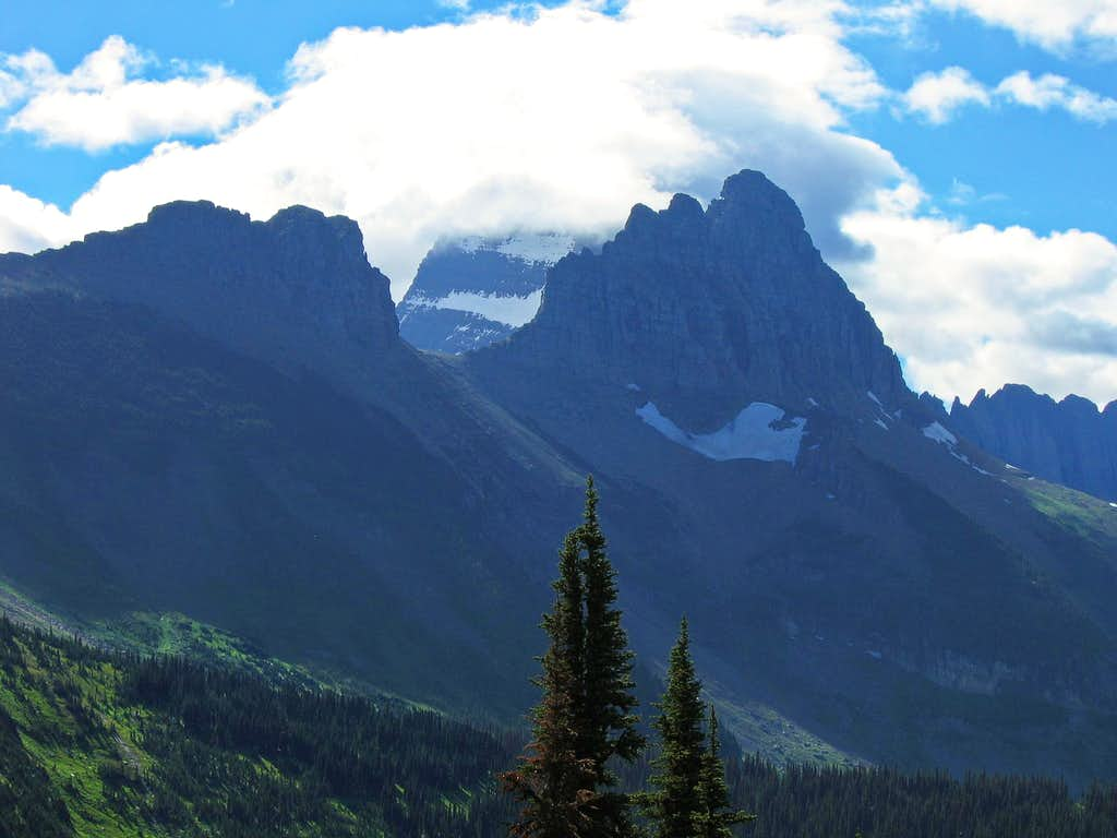 First view of Mount Gould