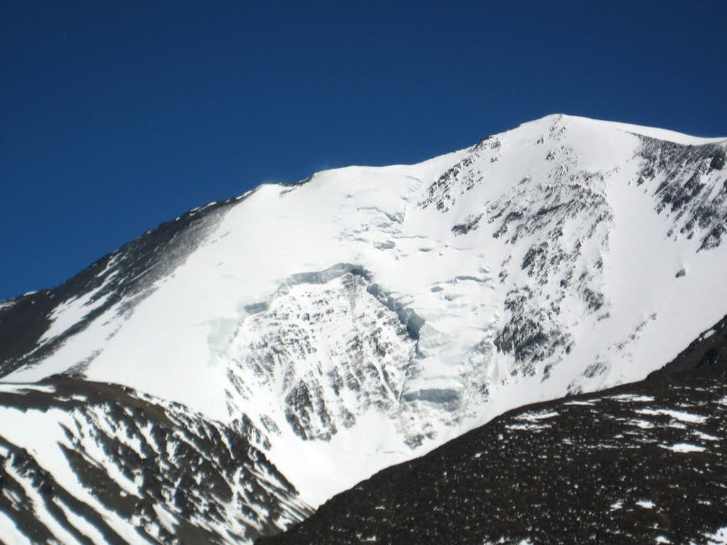 Cerro Plata from south