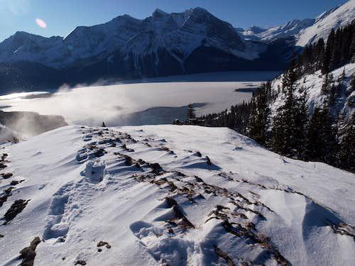 Mt Indefatigable Ridge