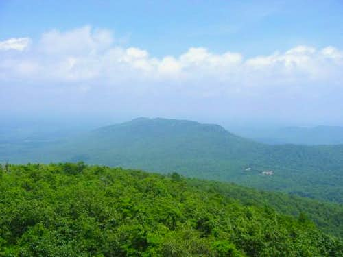 From the top of Moore's Knob....