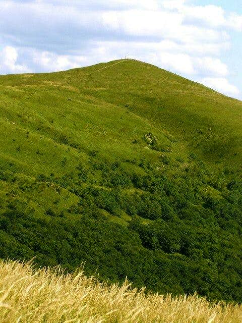 Mount Halicz ( 1333 m)