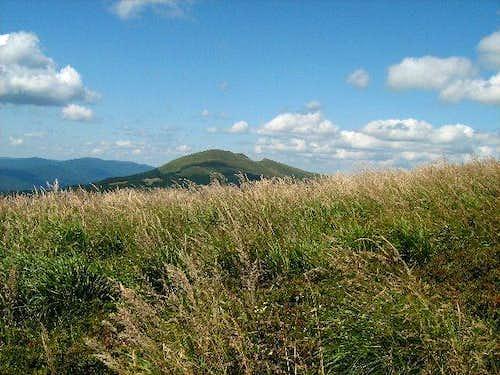 View towards Mount Tarnica and Szeroki Wierch