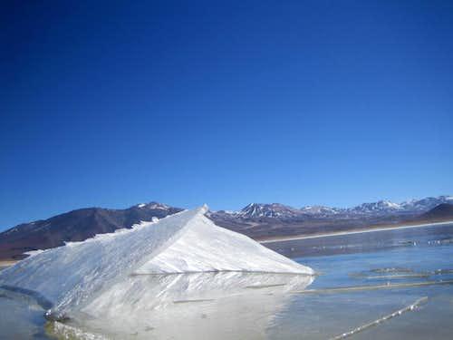 Laguna Blanca - Licancábur