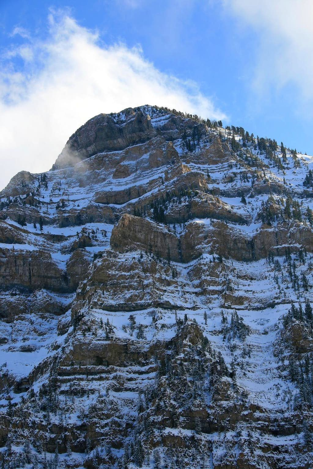 East Peak's north face.
