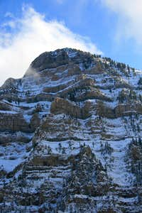 East Peak's north face.