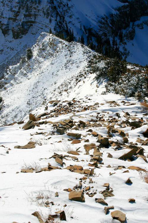 East Peak's south ridge.