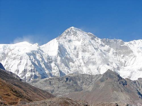 South face of Cho Oyu