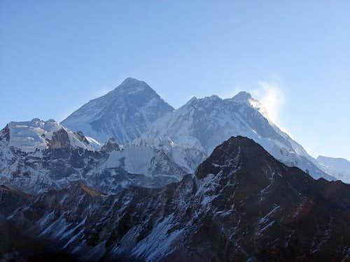 Everest, Nuptse and Lhotse