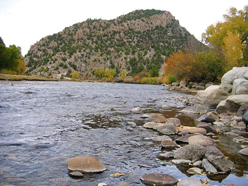 South Face & Arkansas River