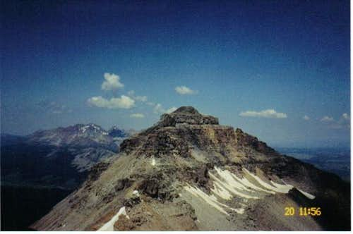 The southeast ridge of...