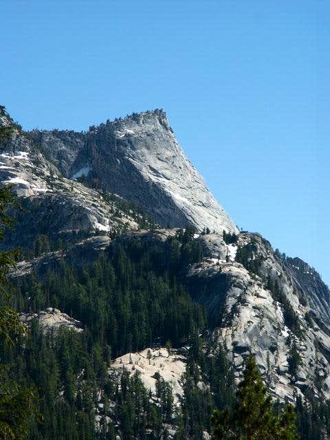 Tenaya Peak and the upper...