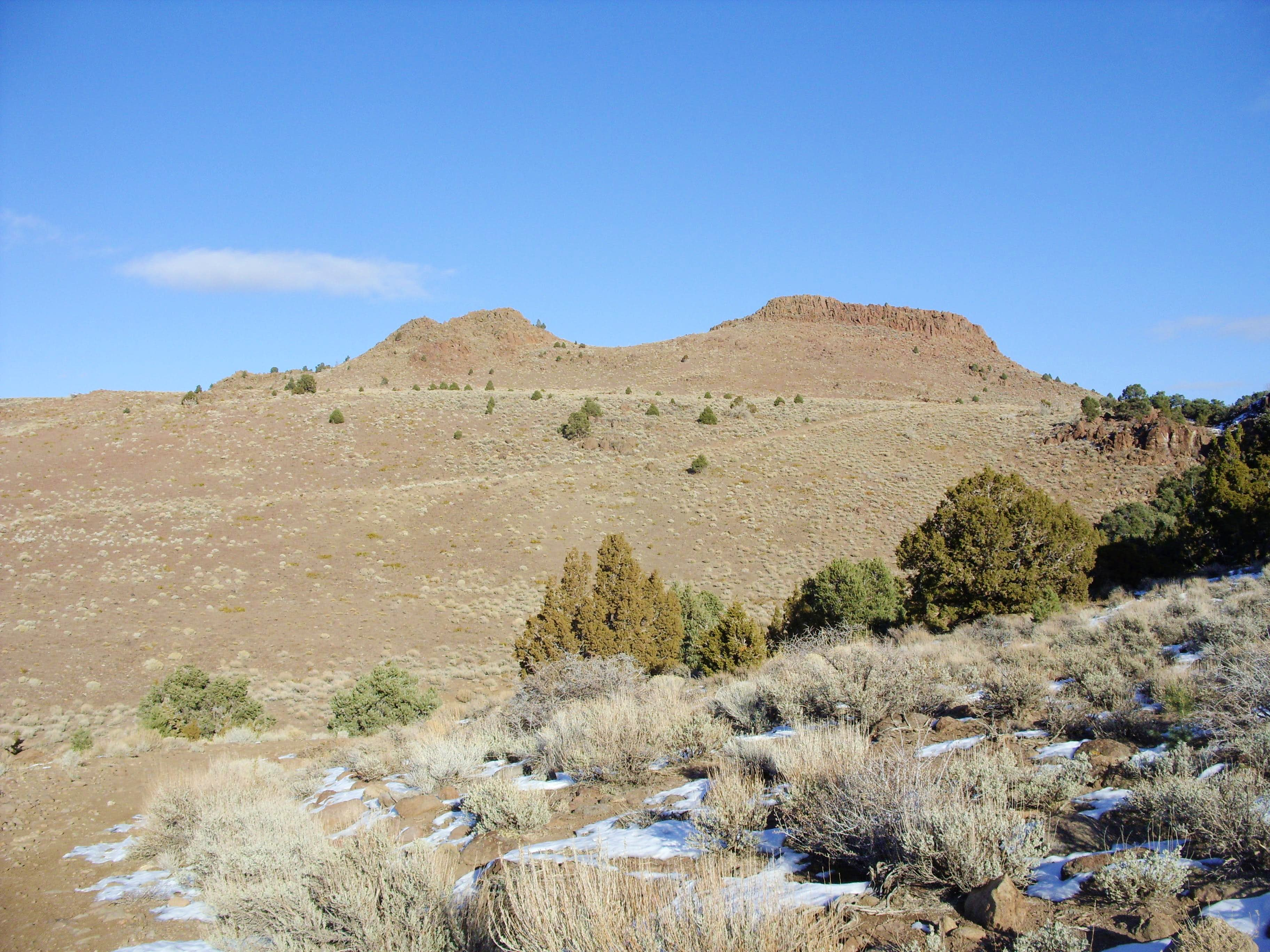 "Camel Back Peak - ""Damonte Ranch Buttes"" - Peak 6305"