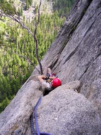 Mark waiting to lead Pitch 5...