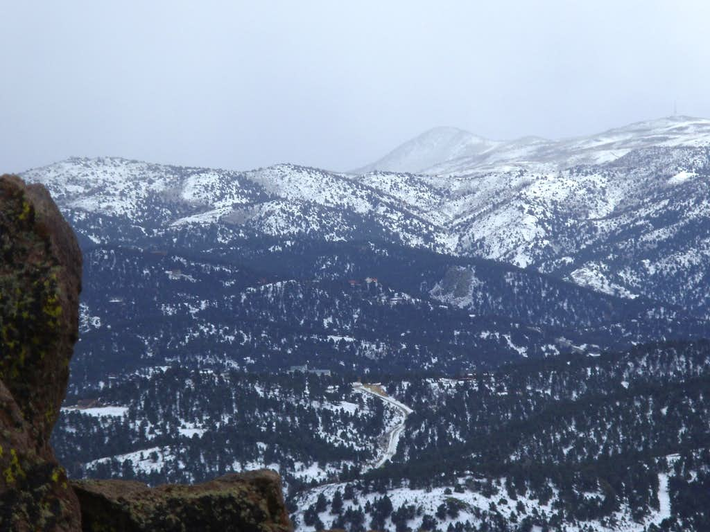 Looking south towards Mount Davidson