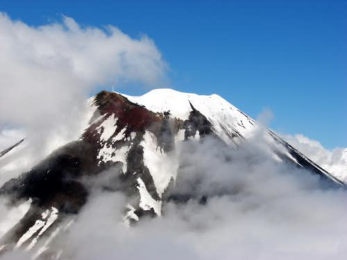 Mt Ngauruhoe Steam Vent
