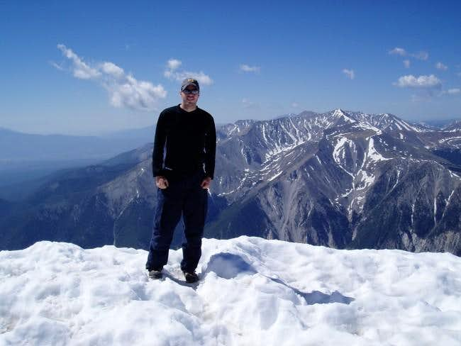Me (Andrew) on the summit of...