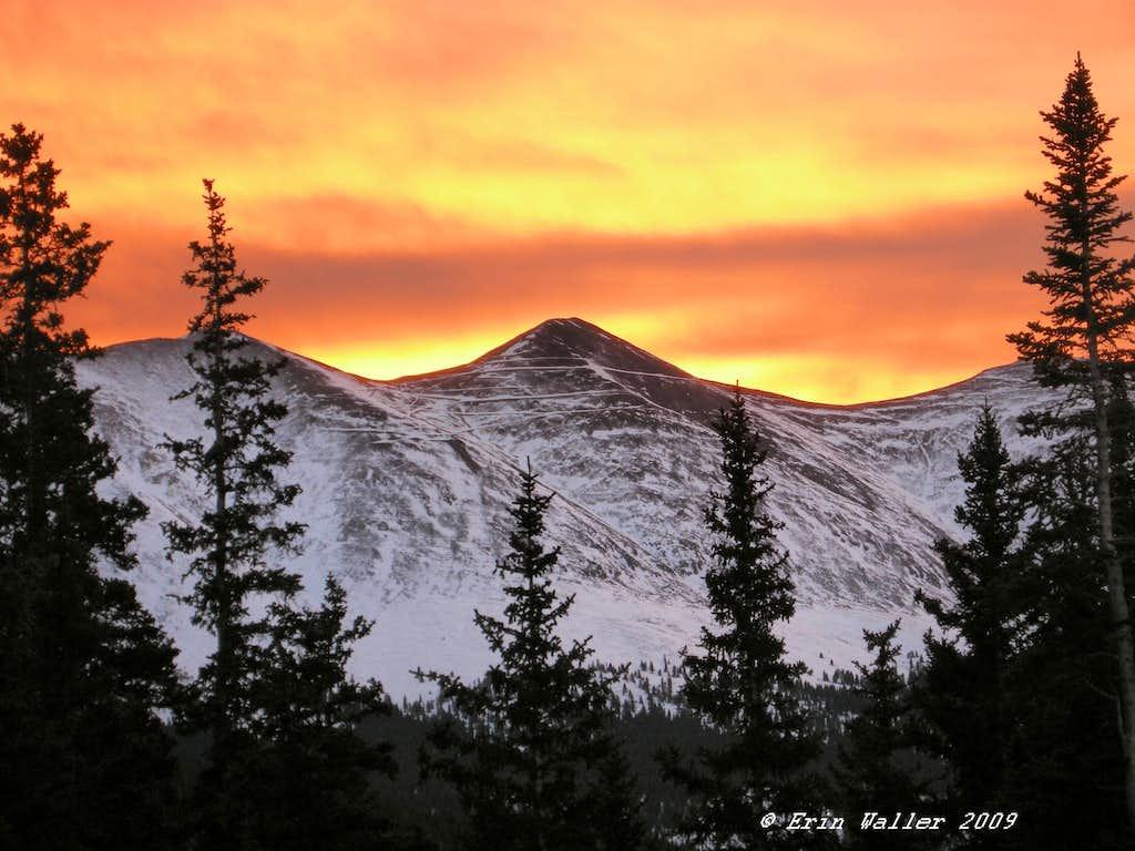 Sunrise on November 28