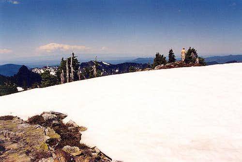 The summit area of Round...