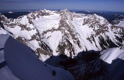 Wörner and Hochkarspitze,...