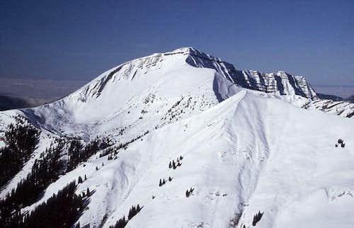 Schafreuter (2105 m), seen...