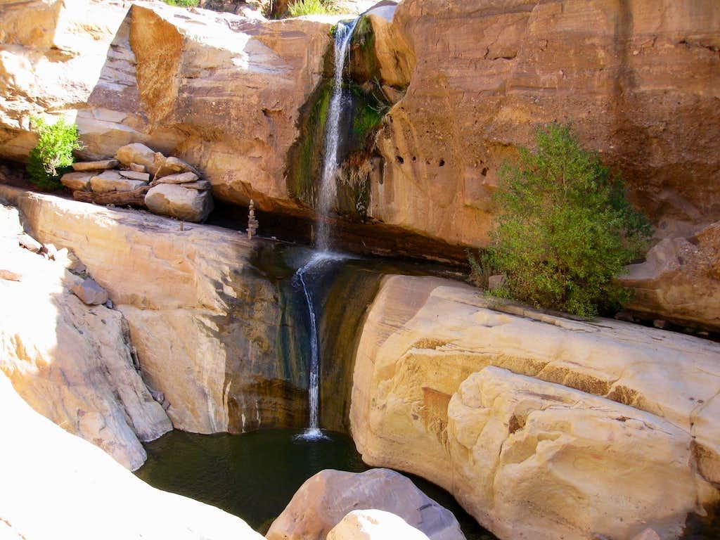 Rappel  in Tar Creek