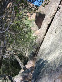 Twinkle Toes Traverse, Pinnacles
