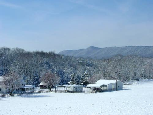 Hartman Knob in Winter