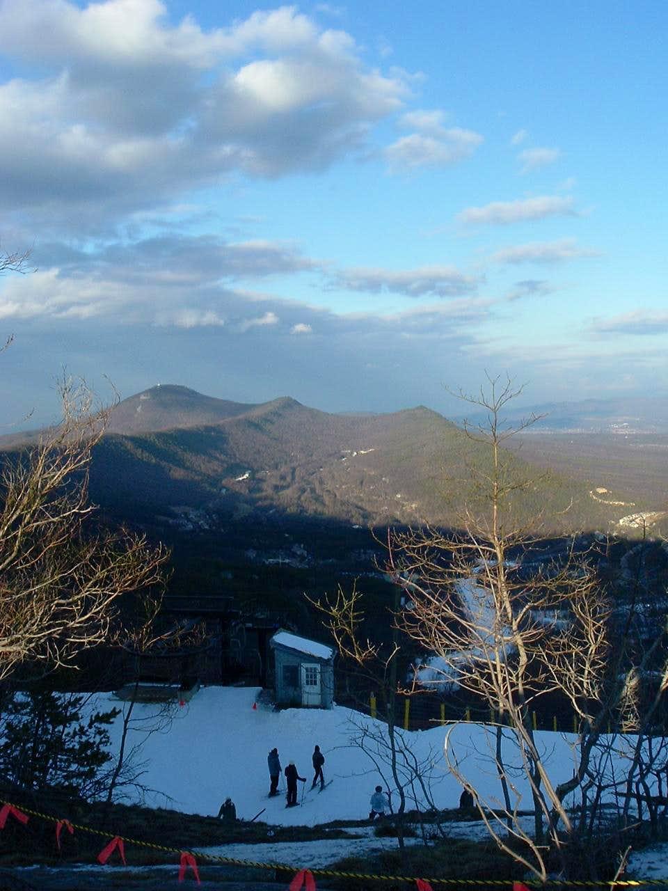 Looking North from Massanutten Ski Area