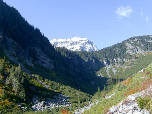 cascade pass area of stehekin