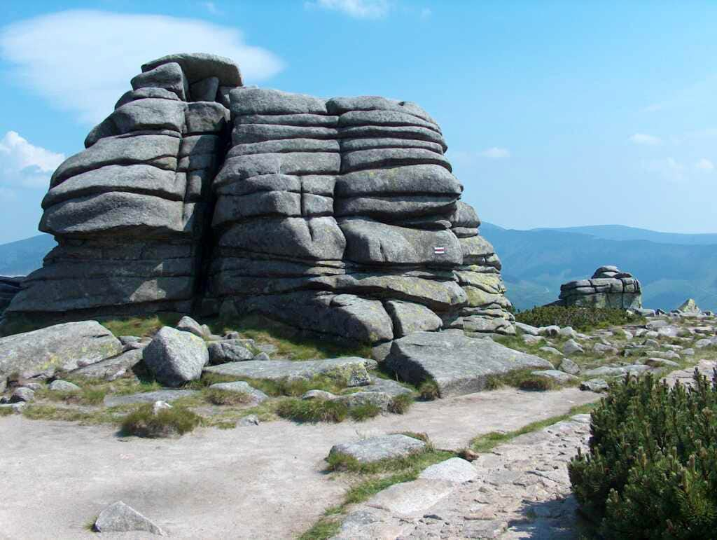 A two-days traverse of the Polish Karkonosze