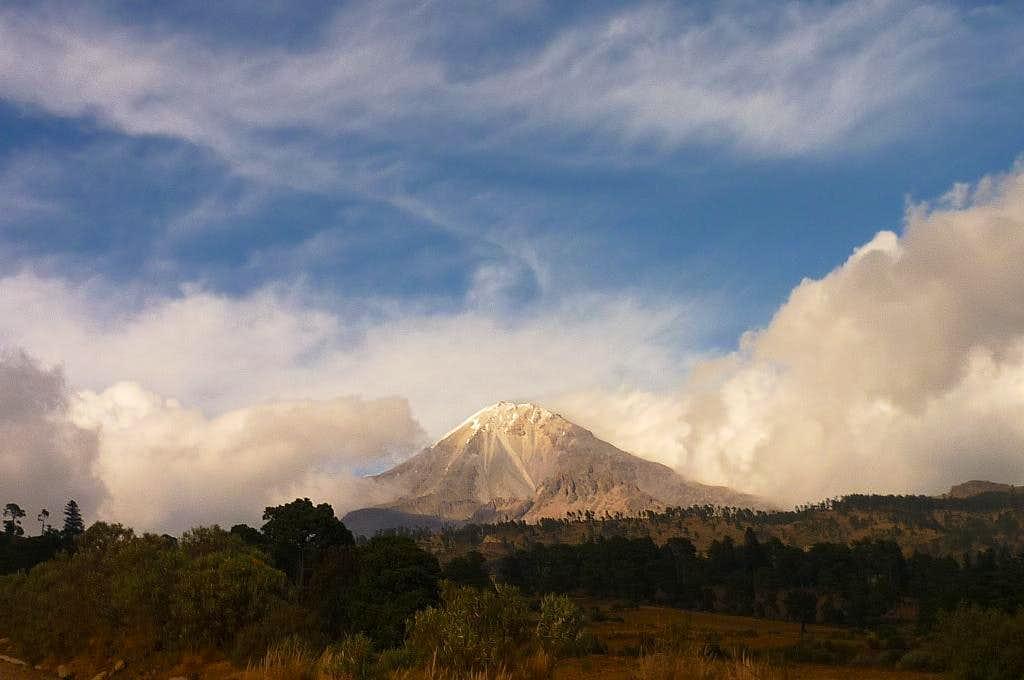 Pico de Orizaba from Texmalaquilla