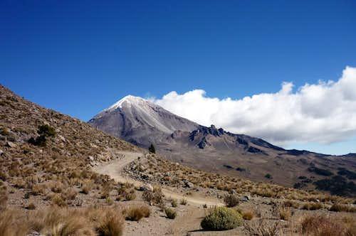 Pico de Orizaba from Sierra Negra