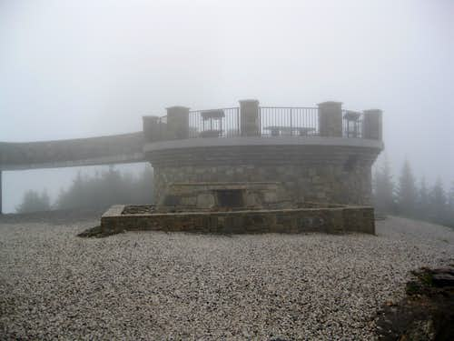Mt. Mitchell summit tower