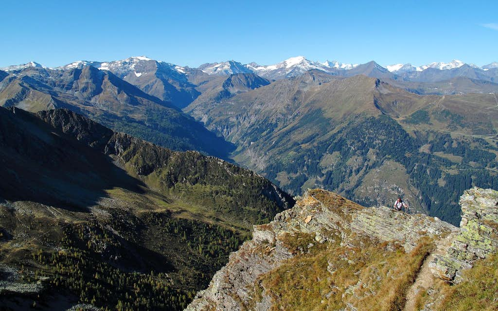 The Goldberg and Glockner groups in the light of a beautiful morning in October