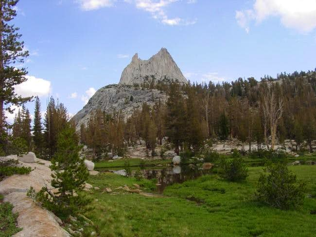Cathedral from Cathedral Lakes