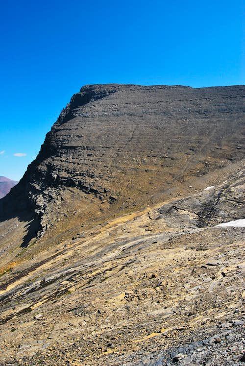 Mount Grinnell summit block