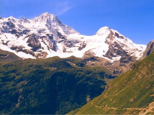 The Breithorn. Seen from the...