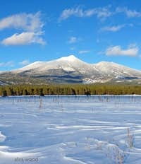 San Francisco Peaks, With SNOW