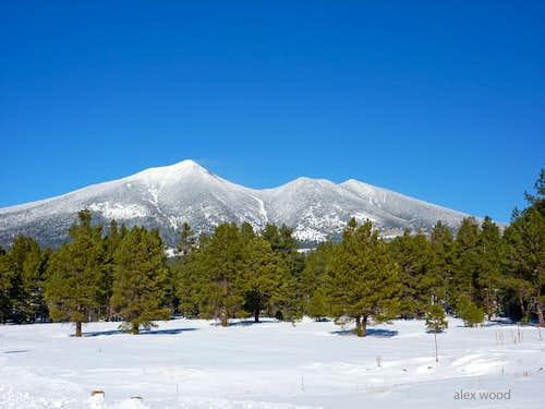 Agassiz and Fremont Peaks
