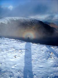 Lake District Brocken Spectre