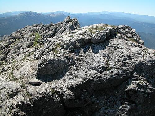 Monte Corrasi summit ridge,...