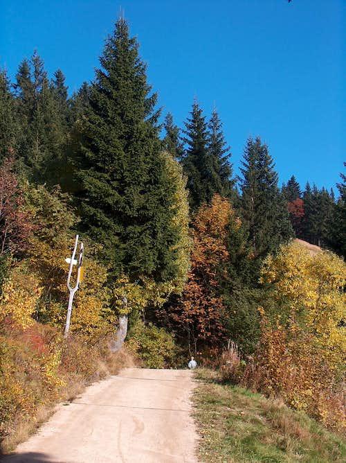 On the way to Horská Bouda Dvoračky