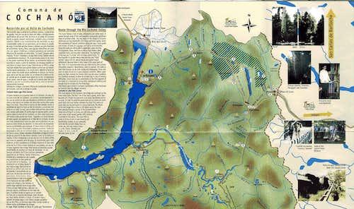 Map of  Cochamo