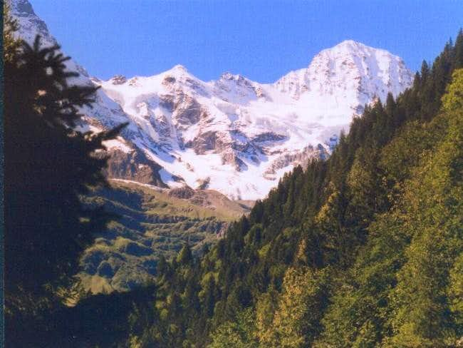 The Breithorn. Seen from...