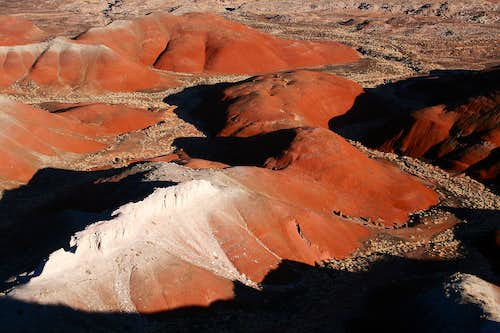 Ridges and Hills in the Painted Desert