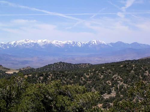 The Sweetwater Range from...