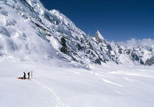 Gondogoro Glacier