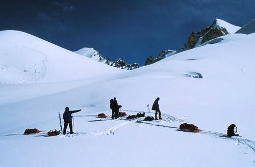 Muztagh Pass west 5720m